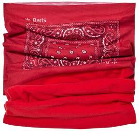 Barts Red Printed Neck Warmer