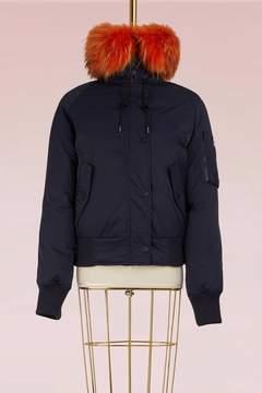 Kenzo Short Fur Parka