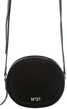 N°21 Round Velvet Shoulder Bag