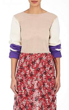 CALVIN KLEIN 205W39NYC Women's Sheer Fine-Gauge Sweater