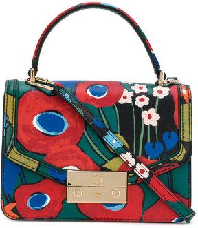 Tory Burch Juliette printed mini top-handle satchel - MULTICOLOUR - STYLE