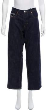 Diesel Mid-Rise Wide-Leg Jeans w/ Tags