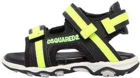 DSQUARED2 Leather & Mesh Sandals