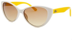 Lacoste Kids' Cat Eye White Sunglasses