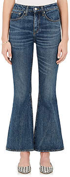 Brock Collection Women's Belle Crop Flared Jeans
