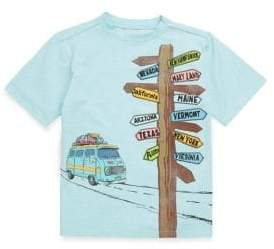 Andy & Evan Little Boy's Directional Sign Tee
