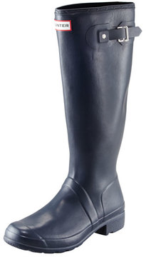 Hunter Original Tour Buckled Welly Boot, Navy