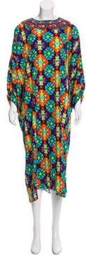 Andrew Gn Silk Dolman Dress w/ Tags