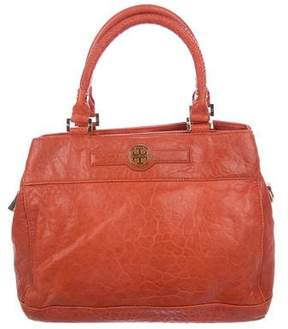 Tory Burch Textured Leather Satchel