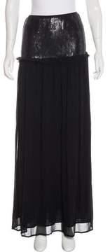 Chan Luu Embellished Maxi Skirt w/ Tags