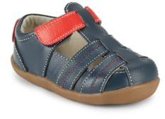 See Kai Run Little Boy's Caleb Strappy Leather Sandals