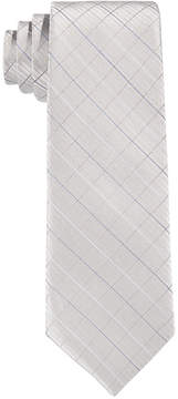 Calvin Klein Etched-Grid Tie, Big Boys (8-20)