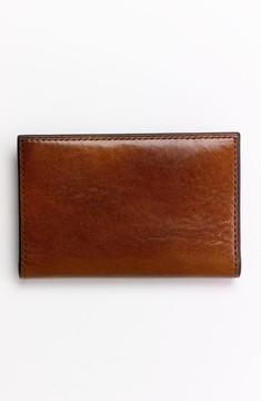 Bosca Men's Calling Card Case - Brown