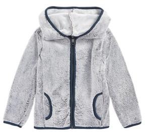 Splendid Boy's Faux Fur Zip Hoodie