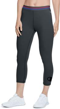 Champion Women's Authentic Black Capri Leggings