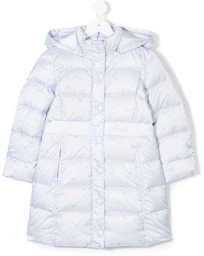 Armani Junior quilted padded coat