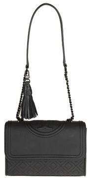 Tory Burch Fleming Matte Small Shoulder Bag Color Black - BLACK - STYLE