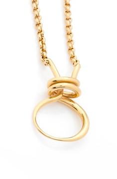 Charlotte Chesnais Women's Round Trip Vermeil Necklace