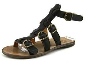 Fiorentini+Baker Thea-s Women Open Toe Leather Black Gladiator Sandal.