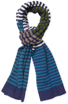 Missoni Men's Wool Striped Long Scarf, 70.5 x 13.5
