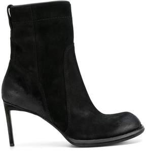 Haider Ackermann rounded toe heeled boots