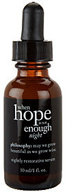 Philosophy When Hope Is Not Enough Night Serum, 1 Fl Oz