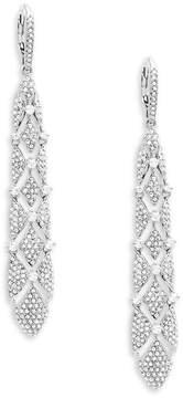Adriana Orsini Women's Naga Pavé Drop Earrings