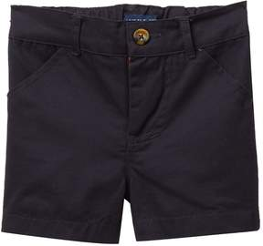 Andy & Evan Navy Twill Shorts (Baby Boys)