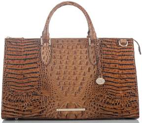 Brahmin Toasted Almond Collection Anywhere Weekender