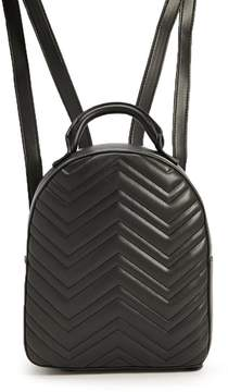 Forever 21 Quilted Chevron Backpack