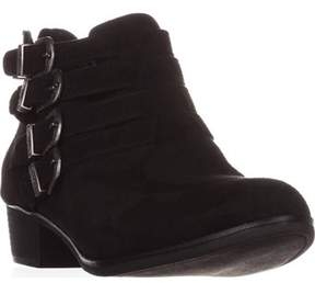 American Rag Ar35 Darie Strappy Ankle Boots, Black.