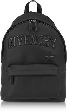 Givenchy Black Polyvinyl Signature Backpack