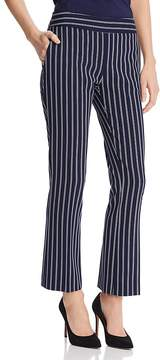 BOSS Tebella Striped Bootcut Pants