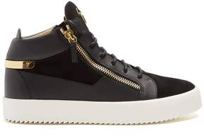Giuseppe Zanotti Kriss mid-top leather trainers