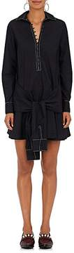 Derek Lam 10 Crosby Women's Cotton Poplin Flared Shirtdress