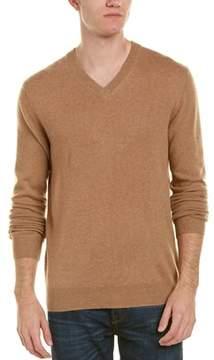 Qi V-neck Cashmere Sweater.