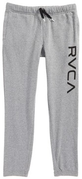 RVCA Boy's Big Logo Sweatpants