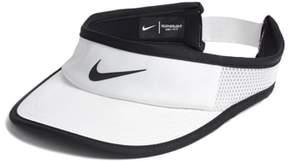 Women's Nike Court Aerobill Tennis Visor - White