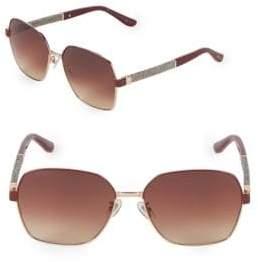 Jimmy Choo Sia 61MM Oversized Sunglasses