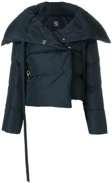 Bacon wide collar padded jacket