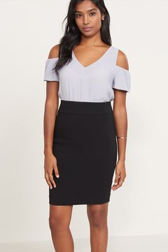 Dynamite Fitted Pencil Skirt