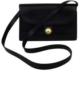 Nina Ricci Black Textured Leather Crossbody