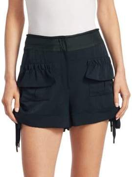 Carven Ruffle Shorts