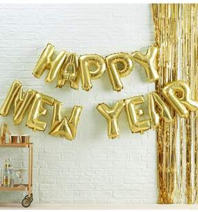 boohoo Bunting Balloon - Happy New Year