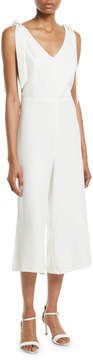 Cynthia Steffe Cece By V-Neck Cropped Wide-Leg Jumpsuit