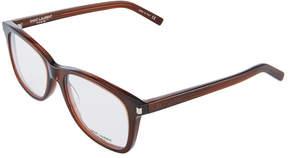 Saint Laurent Rectangle Acetate Optical Glasses