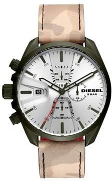 Diesel R) MS9 Chronograph Strap Watch, 47mm