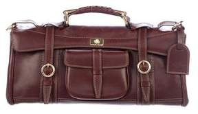 Etro Buckle-Accented Leather Bag