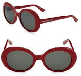 Saint Laurent 54MM Oval Sunglasses