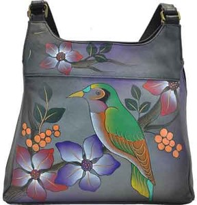 Anuschka Anna By ANNA by Hand Painted Medium Hobo 7001 (Women's)